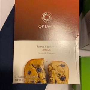 Optavia pancakes and blueberry biscuits